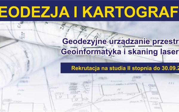 geodezja i kartografia banerek na www
